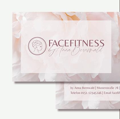 Facefitness Beautydesign Corporate Design